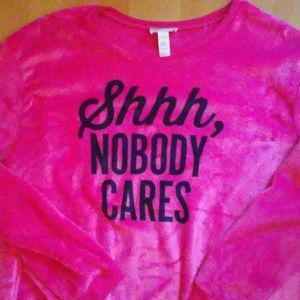 Plush logo sweatshirt